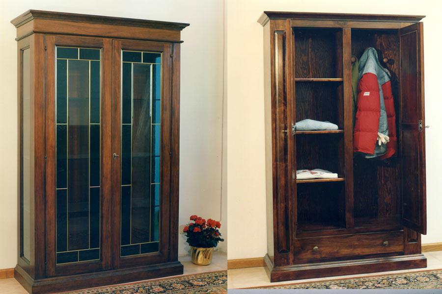 Mobili per ingresso in legno massiccio e arredamenti su ...