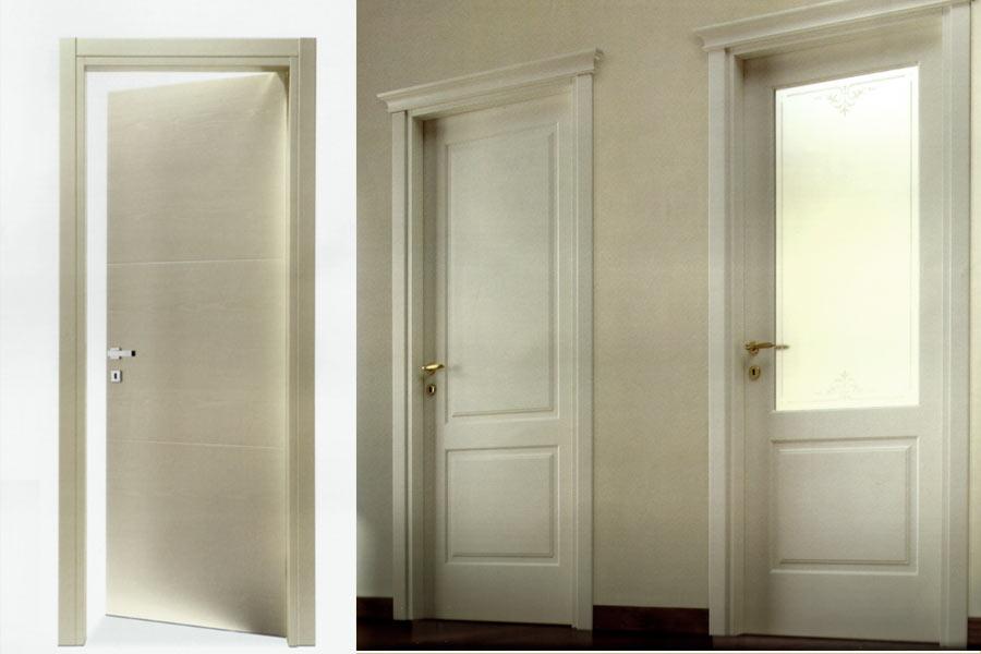 Porte in legno bianche laccatura porte seregno meda - Verniciare porte in legno ...