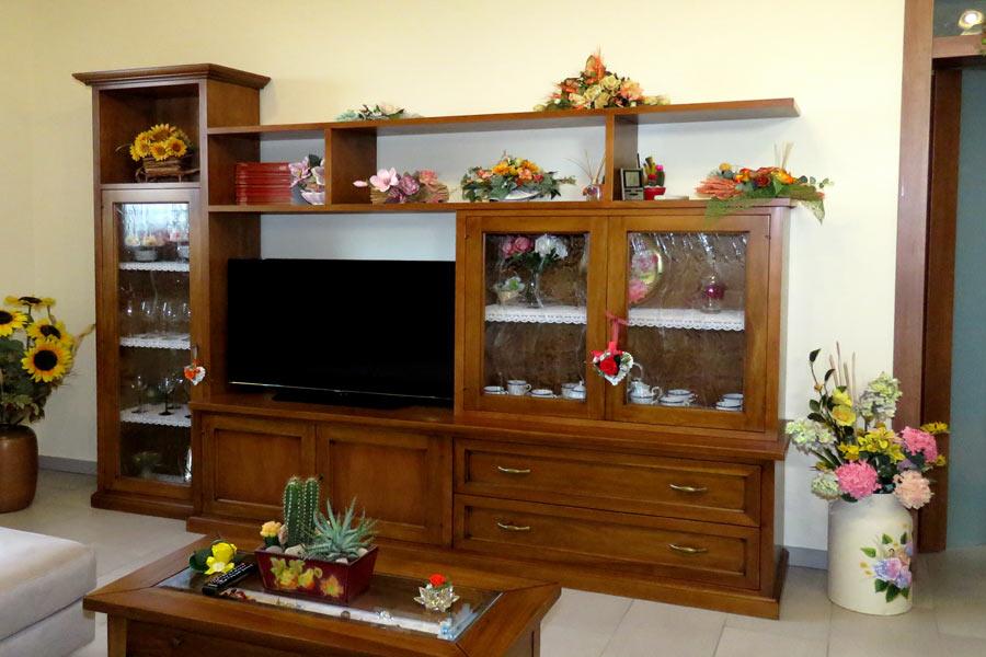 Mobili per soggiorno in legno massiccio naturali e - Mobili in abete massiccio ...
